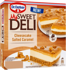 Cheesecake Salted Caramel 500g