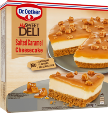 Salted Caramel Cheesecake 500g