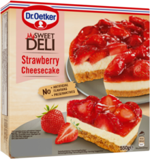 Strawberry Cheesecake 550g