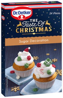The Taste of Christmas, Sugar Decoration 11g